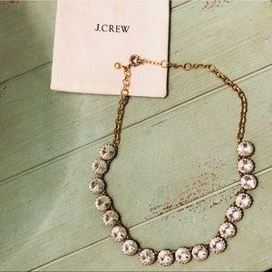 NWOT J. Crew Faux Diamond Statement Necklace